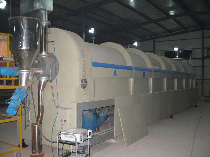 四川雅安烘干机生产现场